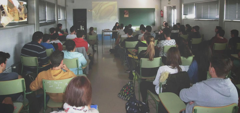 Charlas a colegios sobre Violencia de Genero - AFAVIR
