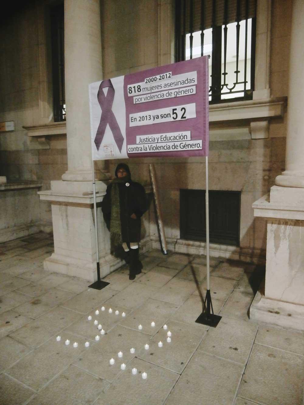 Manifiesto Día Internacional contra la Violencia de Género 2013