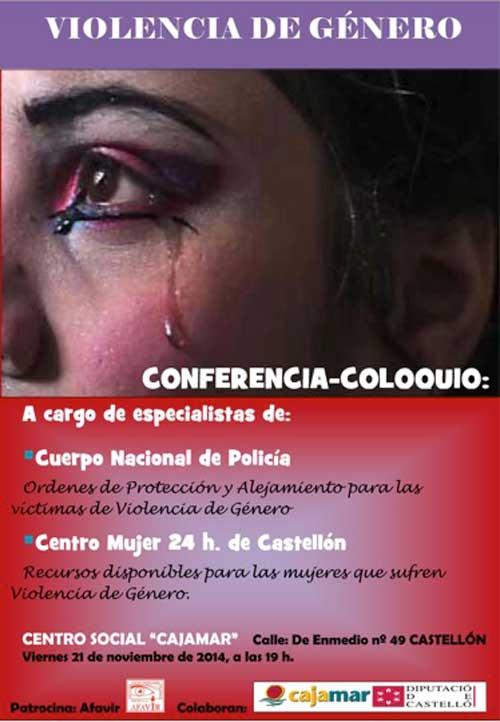 Conferencia contra la Violencia de Género - AFAVIR