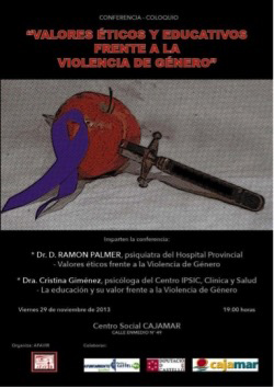 Valores Éticos y Educativos frente a la Violencia de Género - AFAVIR
