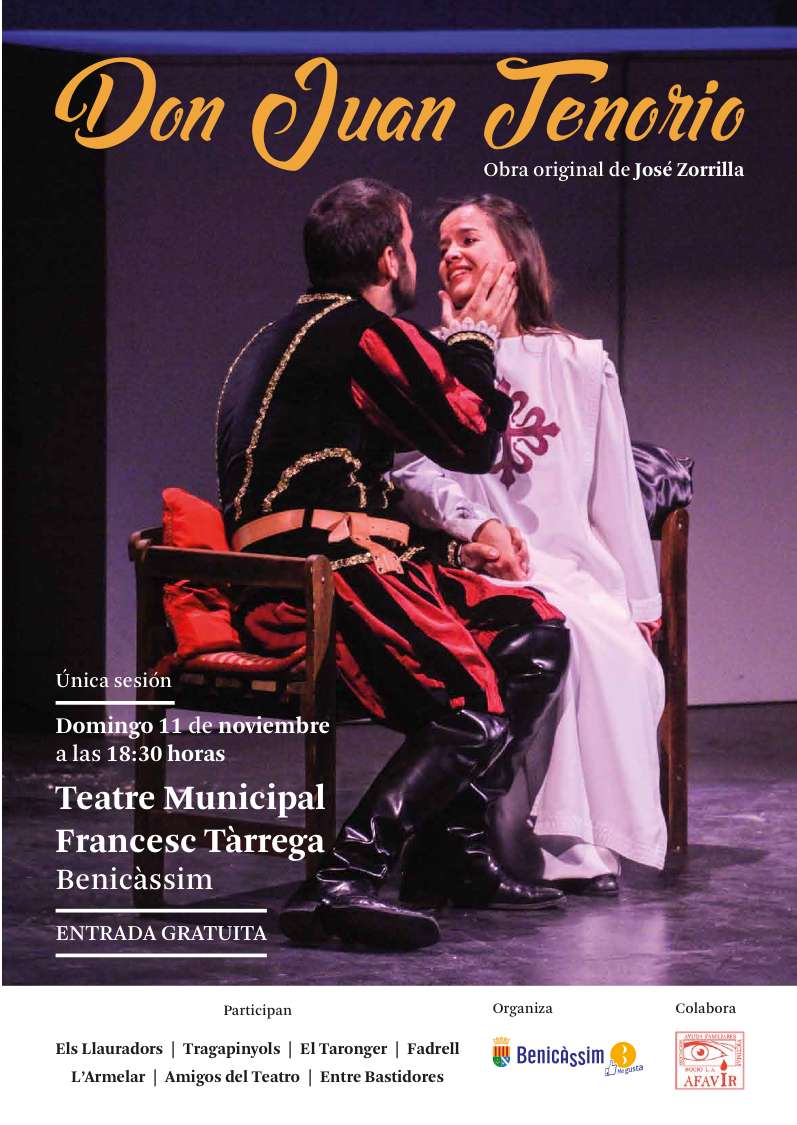 Don Juan Tenorio, Obra de Teatro en Repulsa a la Violencia de Género